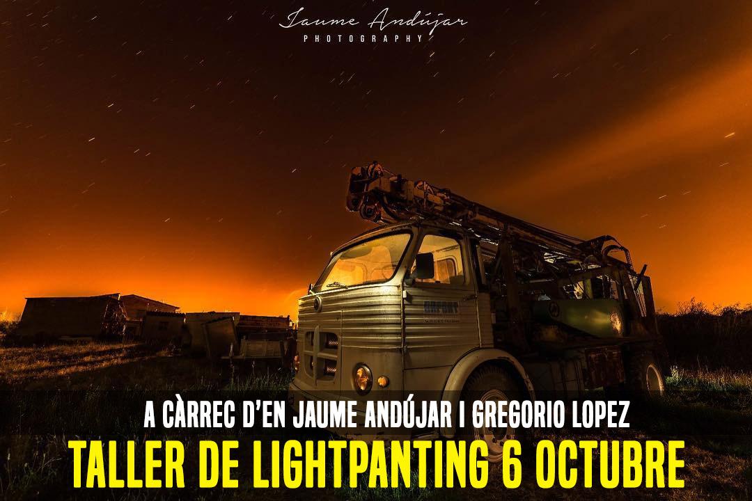 TALLER DE LIGHTPAINTING